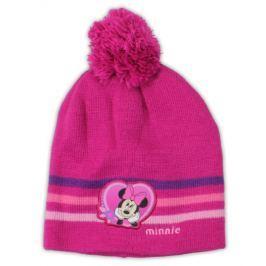 E plus M Dievčenská čiapka Minnie - ružová
