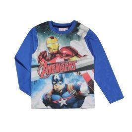 E plus M Chlapčenské tričko Avengers - modré