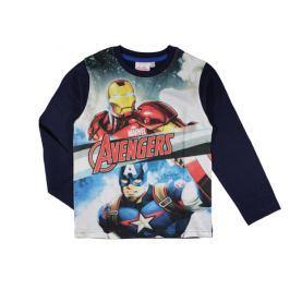 E plus M Chlapčenské tričko Avengers - tmavo modré
