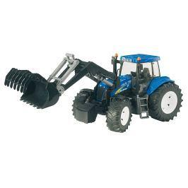 Bruder Farmer - New Holland T8040 Traktor s predným nakladačom