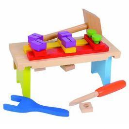 Simba Drevený pracovný stolík s príslušenstvom