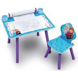Delta Detský kresliaci stôl Frozen - fialovo-modrý