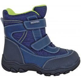 Protetika Chlapčenské členkové zateplené topánky Stadler - tmavo modré