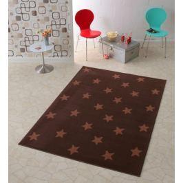 Hanse Home Detský koberec Hviezdy, 140x200 cm - hnedý