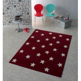 Hanse Home Detský koberec Hviezdičky, 140x200 cm - červený