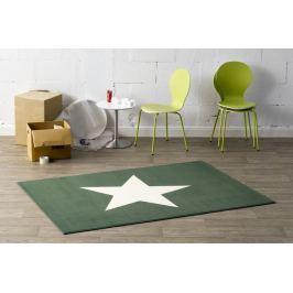 Hanse Home Detský koberec Hviezda, 140x200 cm - zelený