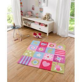 Hanse Home Detský koberec Patchwork, 100x100 cm - farebný