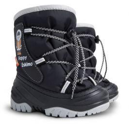 Demar Detské snehule Happy Eskimo C - čierne
