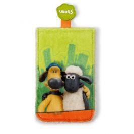 Shaun the Sheep Ovečka Shaun - Obal na chytrý telefón Shaun a Bitzer