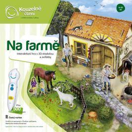 Albi Čarovné čítanie Hra Farma 3D