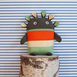 Bartex Design Pyžamožrout, veľký - oranžovo-zelený