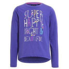 Blue Seven Dievčenská mikina Super happy - fialová