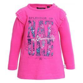 Blue Seven Dievčenské tričko Nature - ružové