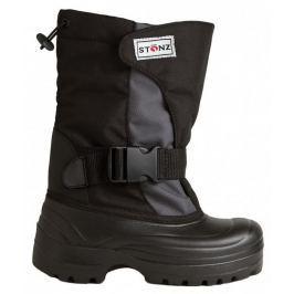 Stonz Detské zimné trekové topánky - šedo-čierne