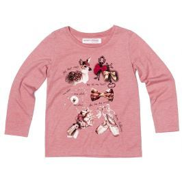 Minoti Dievčenské tričko Forest - ružové