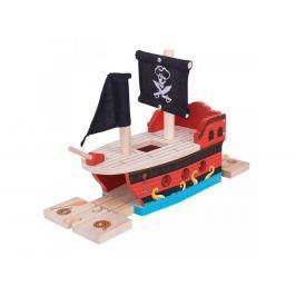 Bigjigs pirátska galéra