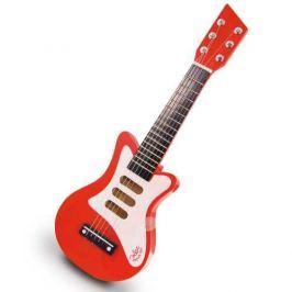 Vilac Detské hudobné nástroje - Červená rock'n'roll gitara