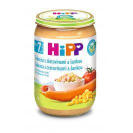 HiPP BIO Zelenina s cestovinami a šunkou 6x220g