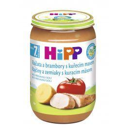 HiPP BIO Paradajky a zemiaky s kuracím mäsom 6x220g