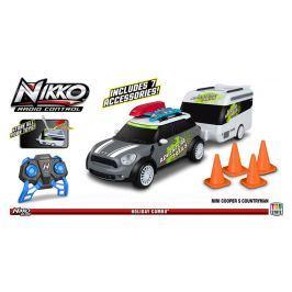Nikko Mini Countryman s karavanom šedý