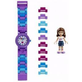 LEGO® Watch & Clock Dievčenské hodinky Friends Olivia - fialové