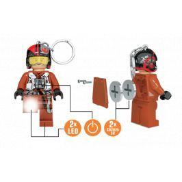 LEGO® LED Lite Detská svietiace figúrka Star Wars Poe Dameron - oranžová