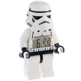 LEGO® Watch & Clock Detské hodiny s budíkom Star Wars Stormtrooper