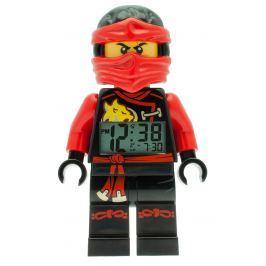 LEGO® Watch & Clock Detské hodiny s budíkom Ninjago Sky Pirates Kai - 25 cm