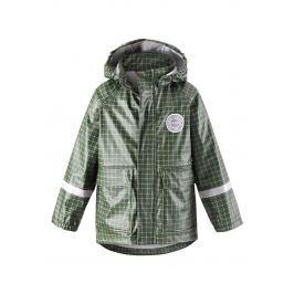 Reima Chlapčenská nepremokavá bunda Vihma - tmavo zelená