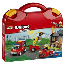 LEGO® Juniors 10740 Kufrík hasičskej hliadky