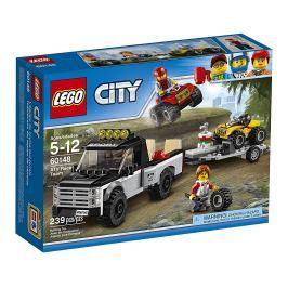 LEGO® City Great Vehicles 60148 Pretekársky tím štvorkoliek
