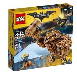 LEGO® BATMAN MOVIE 70904 Clayfaceov blatistý útok