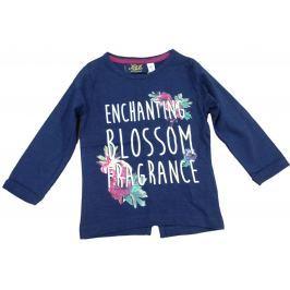 Carodel Dievčenské tričko s rozparkom - modré