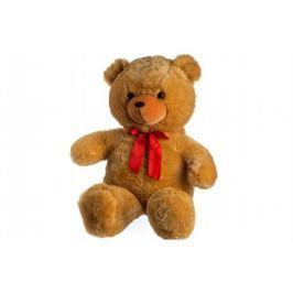 Teddies Medveď s mašľou - 100 cm - svetlo hnedý
