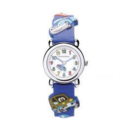 Cannibal Chlapčenské hodinky s autíčkami - modré