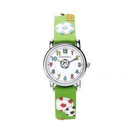 Cannibal Chlapčenské hodinky s lopte - zelené