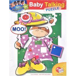 EP Line Baby genius baby so zvukom - krava
