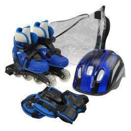 Sulov Súprava - korčule, prilba a chrániče, modrá - veľkosť S