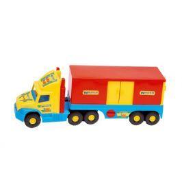 WADER Auto Super Truck kontajner plast 78 cm - žltý