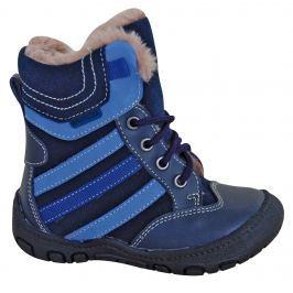 Protetika Chlapčenské zimné topánky Alex - modré