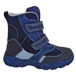 Protetika Chlapčenské zimné topánky Bolzano - modré