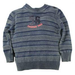 Dirkje Chlapčenský sveter 56 - modro-šedý