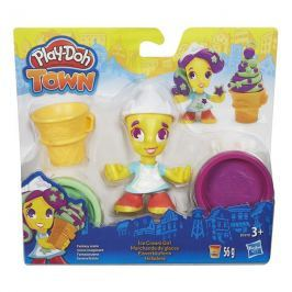 Play-Doh Playdoh Town Figúrka - Zmrzlinářka