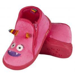 SOXO® Dievčenské papučky Příšerka - ružové