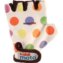 Kiddimoto Cyklistické rukavice Dotty - farebná, veľkosť S