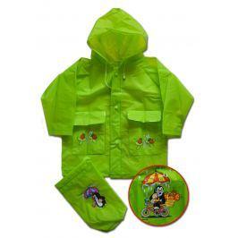 PIDILIDI Detská pláštenka Krtko - zelená