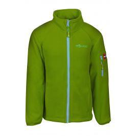 Trollkids Detská fleecová bunda Arendal - zelená