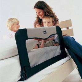 Baby Dan Cestovná zábrana k posteli + taška, čierna - 90 cm