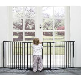Baby Dan Priestorová zábrana Flex L, 90-225 cm - čierna