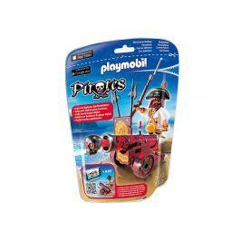 Playmobil 6163 Morský lupič s interaktívnym červeným kanónom